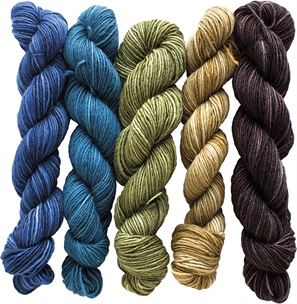 Fino - Mini-Skeins 100 g Georgina