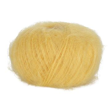 Yellow 22 Blackhill Silk Kid Mohair  25 G
