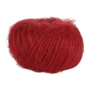 Red Italian 44  Blackhill Silk Kid Mohair  25 G