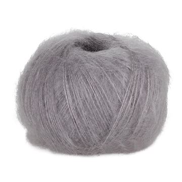 Light Grey 57 Blackhill Silk Kid Mohair  25 G