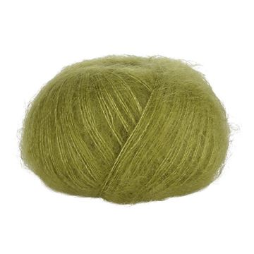 Dark Lime 86 Blackhill Silk Kid Mohair  25 G