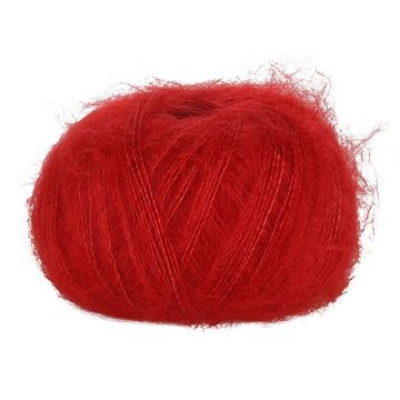 Red 120 Blackhill Silk Kid Mohair  25 G
