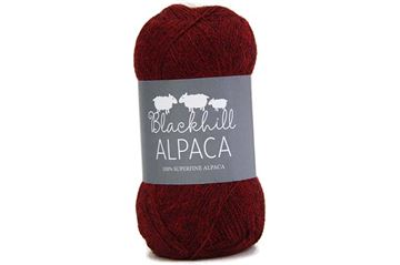Blackhill Superfine Alpaca Dark Rosso C843