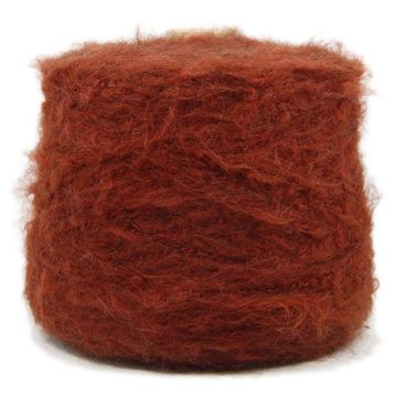 Brushed Mohair Lux Ruggine 10