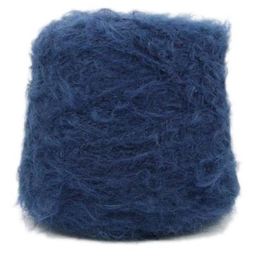 Brushed Mohair Lux true Blue 3