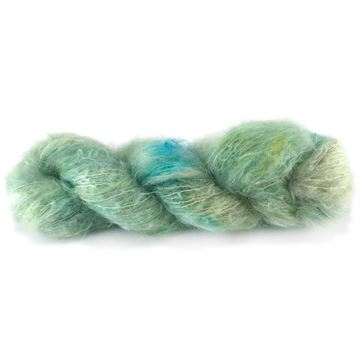 #1  Mohair Handyed By Charlotte Spagner 100G
