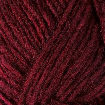 1242 Alafoss Lopi Istex Oxblood Red