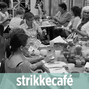 Strikkecafe den 9. april 2018