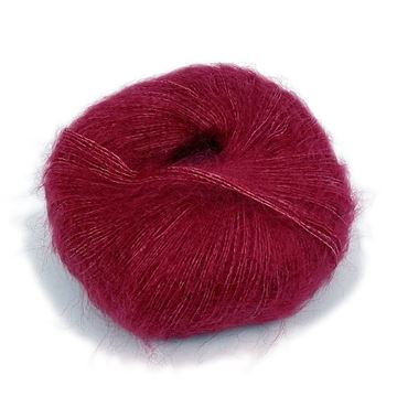 Silk Mohair Raspberry