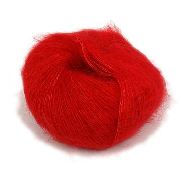 Silk Mohair Red Hot Chili