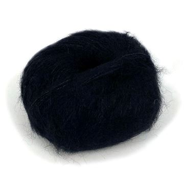 Silk Mohair True Black