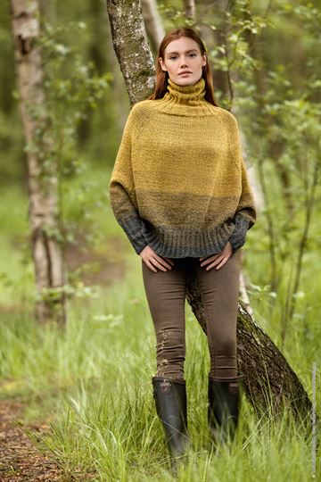 Shades Of Tweed - ENGELSK FIL - Poncho Pullover