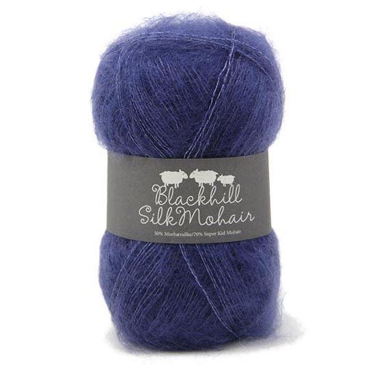Lys Ultramarin Blackhill Kid Mohair Silk 25G