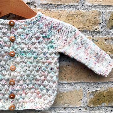 Baby Bubble Cardigan