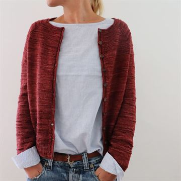 the purl code cardigan